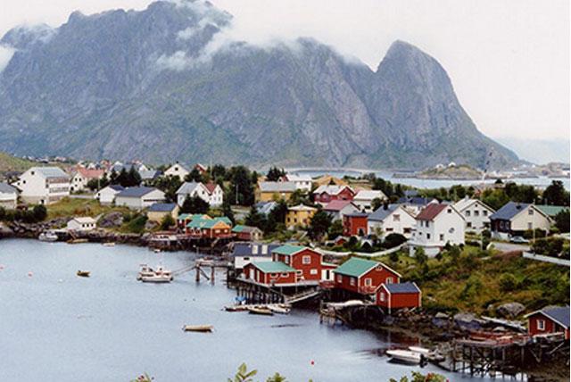 挪威渔村博物馆