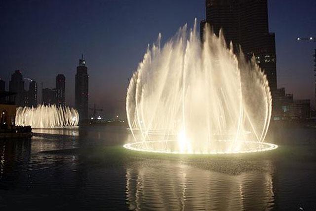 大欧诺佛喷泉