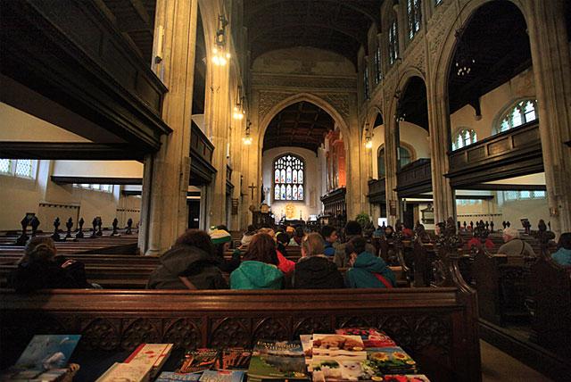 剑桥大圣玛丽教堂