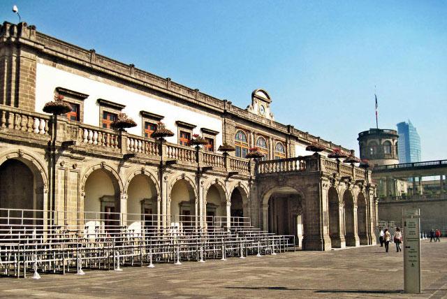 墨西哥城国家历史博物馆
