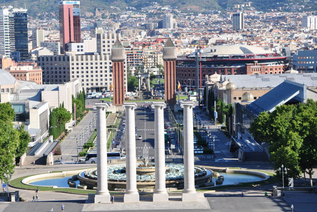 巴塞罗那西班牙广场