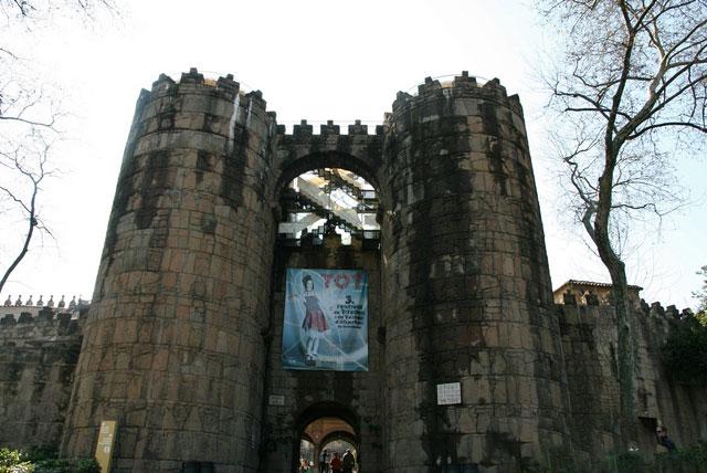 西班牙巴塞罗那凯旋门
