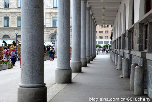 卢布尔雅那城市广场