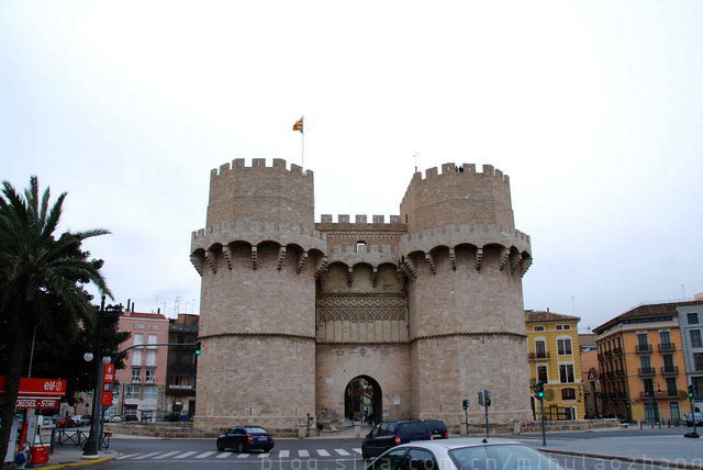 10世纪时的城墙塔楼