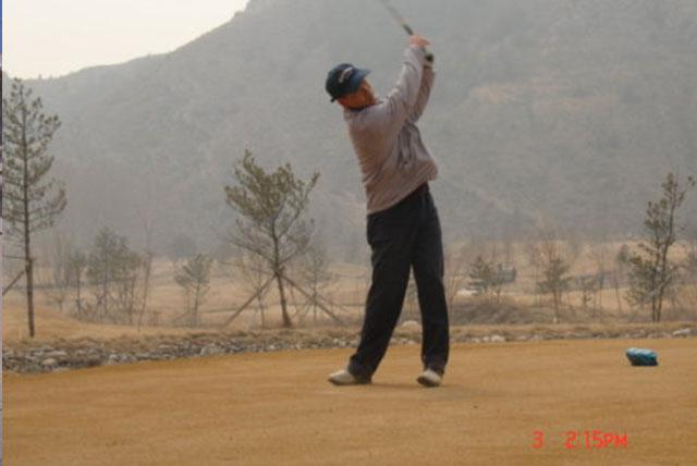 大青山太伟高尔夫