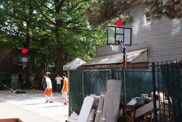 西四街篮球场