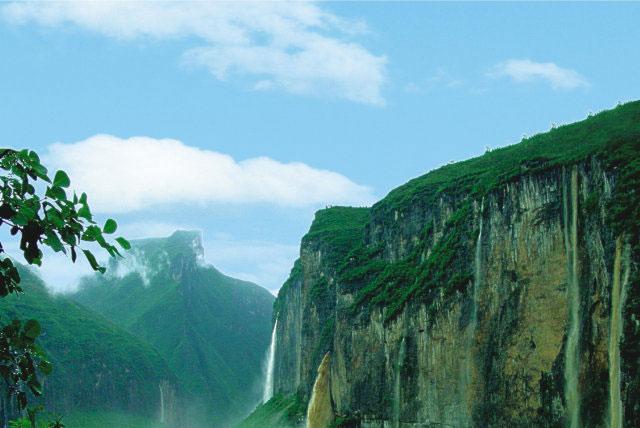 重庆巫山小三峡,三峡大坝和三峡人家风景区