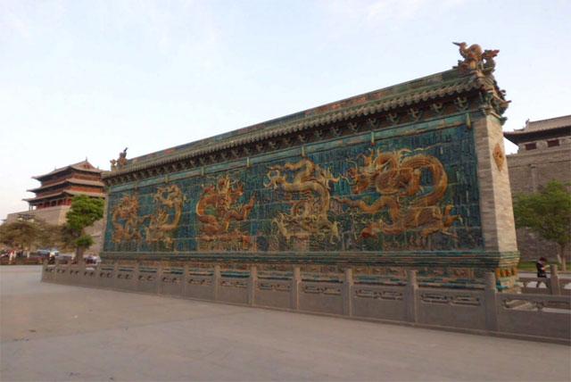 善化寺五龙壁