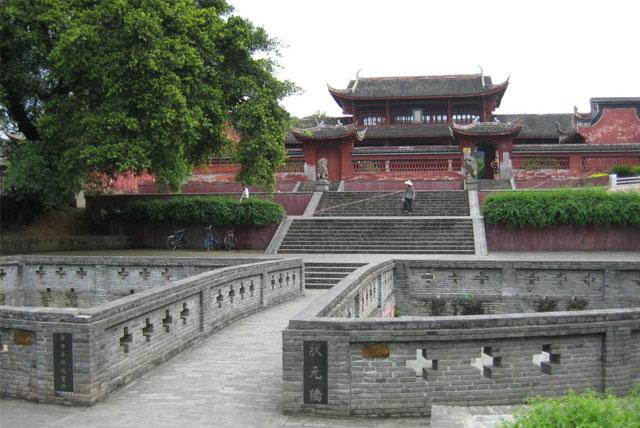 赣州市大余丫山景区旅游