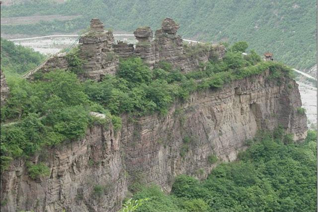 天脊山风景区旅游攻略