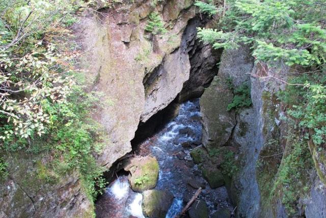长白山梯子河