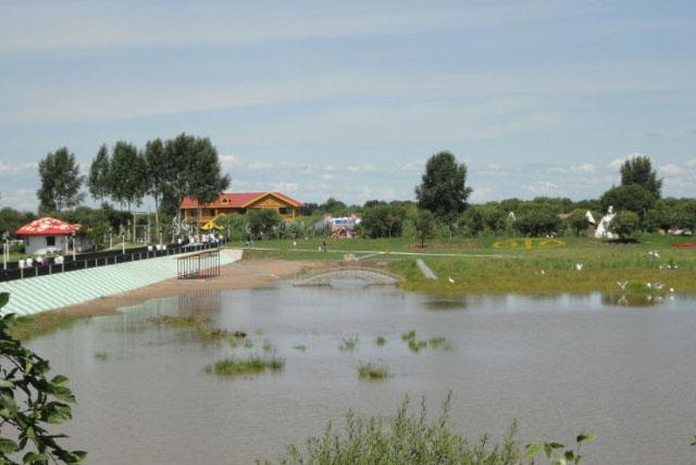 绥滨月牙湖
