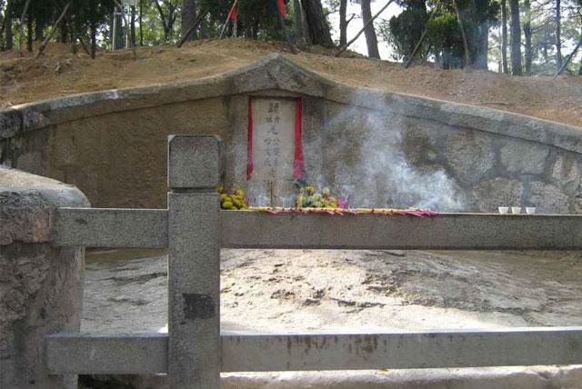 毛泽东双亲墓