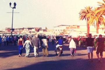 Djemaa el-Fna广场