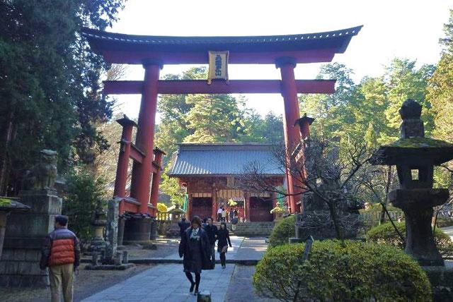北口本宫富士浅间神社