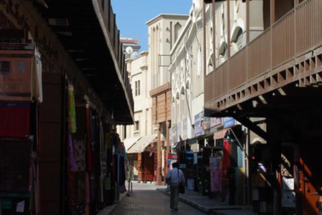 迪拜老集市
