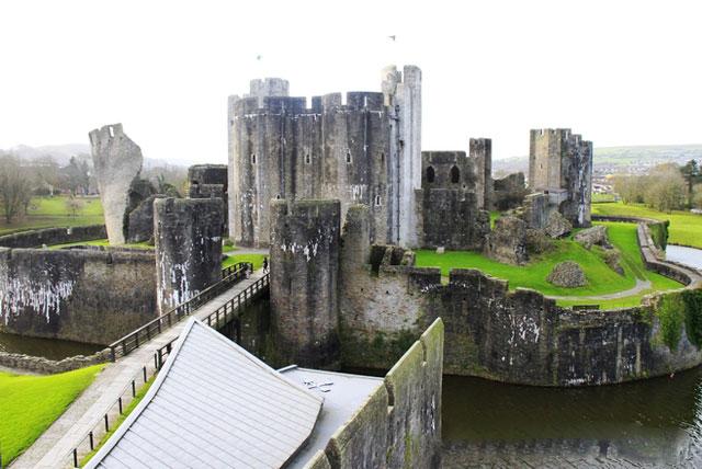 Caerphilly城堡