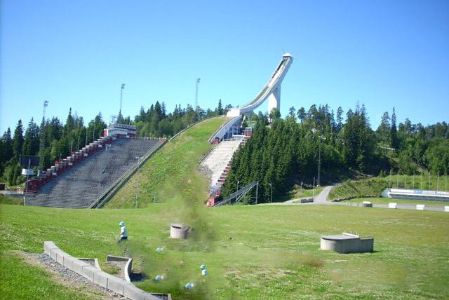 霍尔门考山滑雪场