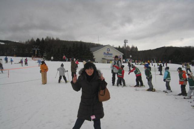 富士天神山滑雪场