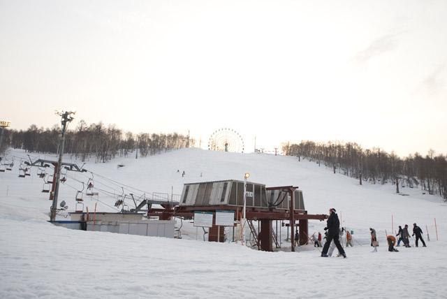 手稻滑雪场