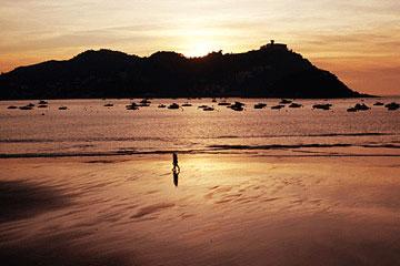 Playa de la Concha海滩
