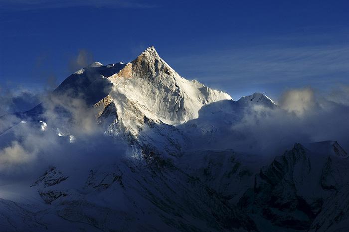 希夏邦马峰绝美风景