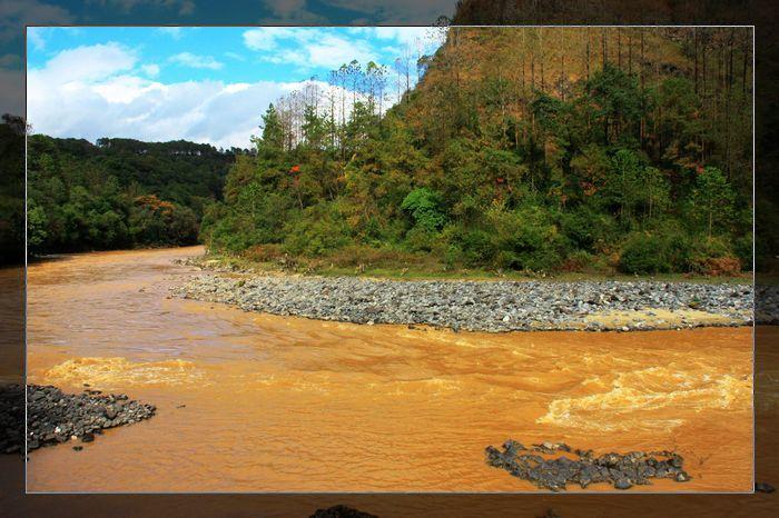 黄水河?黑水河!