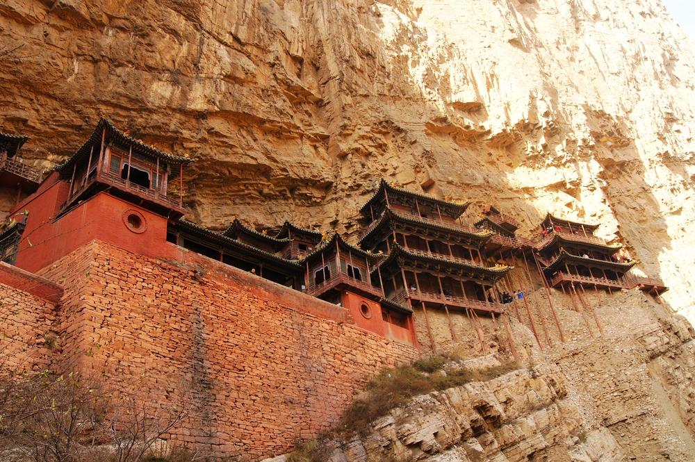 峭壁上的建筑奇迹――悬空寺