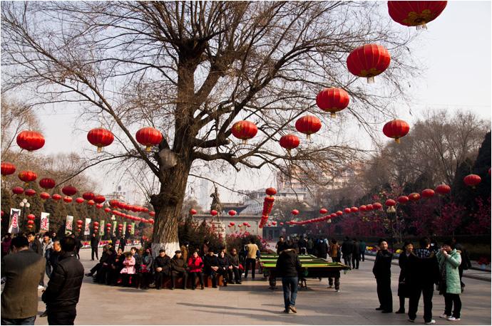 兰州五泉山春节文化庙会