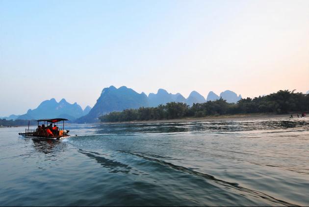 中国最美的江 桂林漓江山水风光