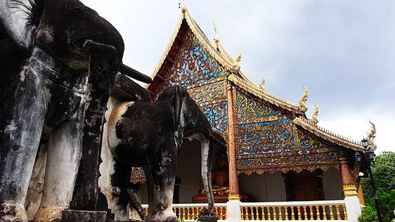清曼寺:清迈最古老的寺院