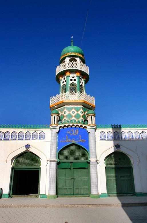 新疆哈密市艾提尕尔清真寺