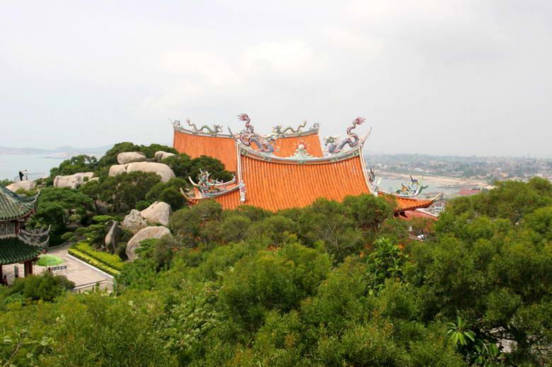 福建莆田湄州岛妈祖庙建筑群