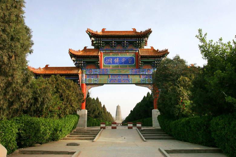 陕西扶风法门寺