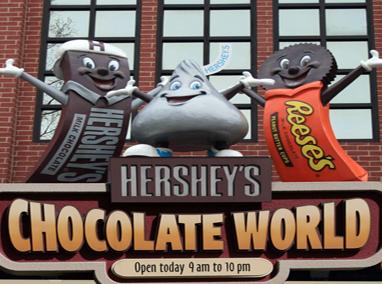 好时巧克力加工厂