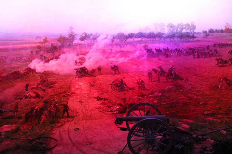 回忆南北战争的历史痕迹