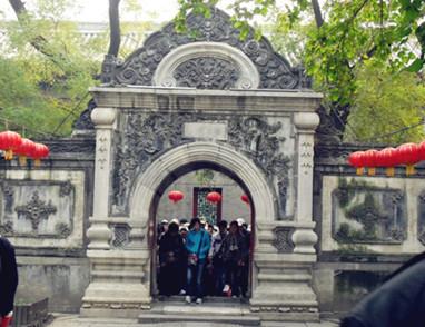 汉白玉拱门