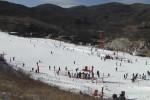 晋祠龙山滑雪