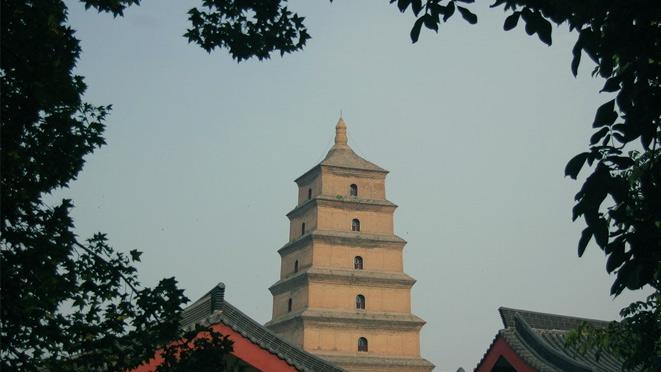 陕西旅游景点图片大雁塔