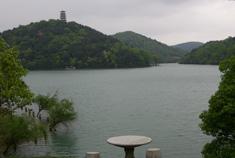 都市人绿蓝色的梦幻地 石燕湖