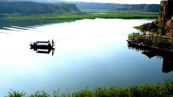 神奇水洞沟 泛舟红山湖