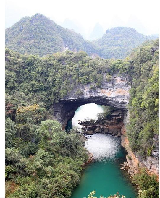 广西鹿寨香桥岩溶国家地质公园广西鹿寨岩溶