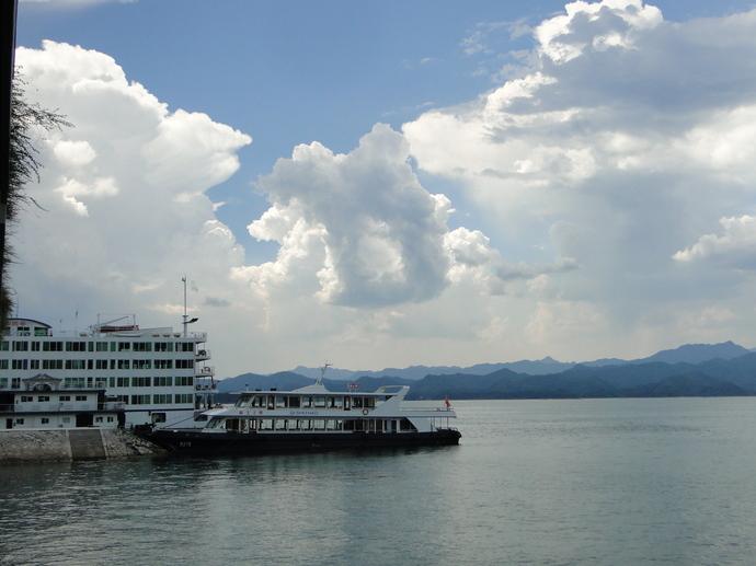 夏日千岛湖