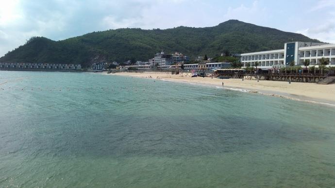 深圳东部大鹏半岛之南澳