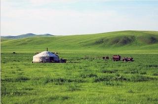 走进呼伦贝尔大草原深处感受草原带来的快乐